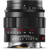 Leica 50 mm f/1,4 ASPH SUMMILUX-M Black-Chrome Edition