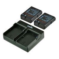 Jupio Kit 2x EN-EL14-A + USB Single Charger pro Nikon