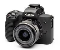 EasyCover silikonové pouzdro pro Canon EOS M50 černé