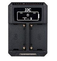 JJC duální USB nabíječka pro akumulátor 2× Sony NP-F