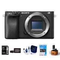 Sony Alpha A6400 tělo černý - Foto kit