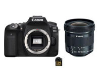 Canon EOS 90D + 10-18 mm f/4,5-5,6 STM