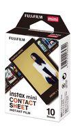 Fujifilm Instax Contact Sheet