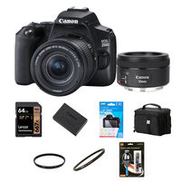 Canon EOS 250D + 18-55 mm IS STM + 50 mm f/1,8 STM černý - Foto kit