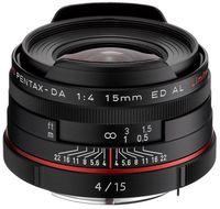 Pentax HD DA 15 mm f/4,0 ED AL Limited černý