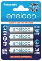 Panasonic Eneloop AA baterie 1900 mAh 4 ks