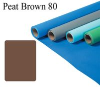 Fomei papírové pozadí 2,7x11m peat brown 80