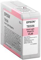 Epson Singlepack T850600 Photo Light Magenta UltraChrome HD - světlá purpurová