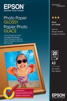 Epson Photo Paper Glossy A3, 20 listů