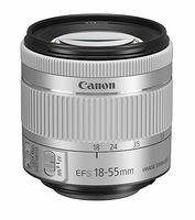 Canon EF-S 18-55 mm f/4-5.6 IS STM stříbrný