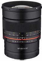 Samyang MF 85 mm f/1,4 pro Canon RF