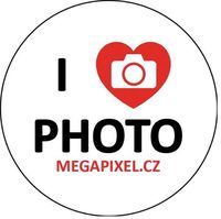 Megapixel odznak: I love photo!