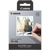 Canon Colour Ink Label Set XS - 20 listů