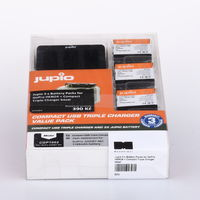 Jupio 3 x Battery Packs for GoPro HERO4 + Compact Triple Charger bazar