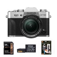 Fujifilm X-T30 + 18-55 mm stříbrný - Základní kit