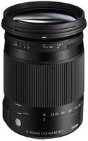 Sigma 18-300 mm f/3,5-6,3 DC Macro OS HSM Contemporary pro Nikon