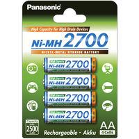 Panasonic NI-MH AA baterie 2700 mAh 4 ks