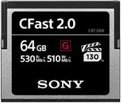 Sony 64GB CFast 2.0 530 MB/s VPG130