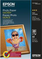 Epson Photo Paper Glossy A4, 20 listů