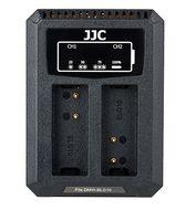 JJC duální USB nabíječka pro akumulátor 2× Panasonic DMW-BLG10/BLE9 / Leica BP-DC15