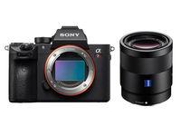 Sony Alpha A7R III A + FE 55 mm f/1,8 ZA Sonnar T