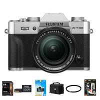 Fujifilm X-T30 + 18-55 mm stříbrný - Foto kit