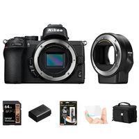 Nikon Z50 + FTZ adaptér - Foto kit