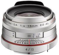 Pentax HD DA 15 mm f/4,0 ED AL Limited stříbrný