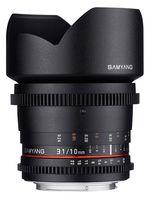 Samyang CINE 10 mm T/3,1 VDSLR ED AS NCS CS II pro Canon M
