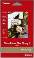 Canon fotopapír PP-201 Plus Glossy II (10×15) 50 ks