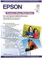 Epson Premium Glossy Photo Paper A3, 20 listů