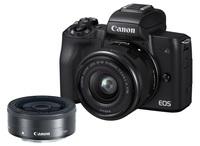 Canon EOS M50 + 15-45 mm + 22mm černý