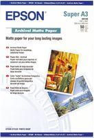 Epson Archival Matte Paper A3+, 50 listů