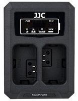 JJC duální USB nabíječka pro akumulátor 2× Sony NP-FW50
