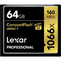 Lexar CF 64GB 1066x Professional UDMA7 160 MB/s (VPG-65)