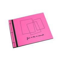 Fujifilm Album JAPANESE růžovo-černé