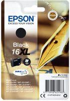 Epson Singlepack T16314012 Black 16XL DURABrite - černá