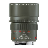 Leica 90 mm f/2,0 APO-SUMMICRON-M ASPH edice Safari