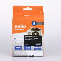 Jupio 2 x Battery Packs for GoPro HERO4 + Compact Single Charger bazar