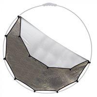 Lastolite HaloCompact odrazná plocha 82cm zlatá/stříbrná (bez rámu)