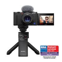 Sony ZV-1 vlogovací kamera + Sony grip se stativem GP-VPT2BT