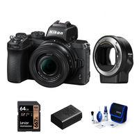 Nikon Z50 + 16-50 mm + FTZ adaptér - Základní kit