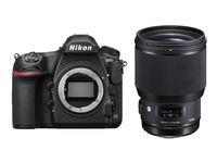 Nikon D850 + Sigma 85 mm f/1,4 DG HSM Art