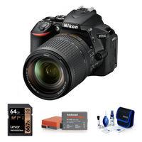 Nikon D5600 + 18-140 mm VR černý - Základní kit
