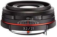 Pentax HD DA 21 mm f/3,2 ED AL Limited černý