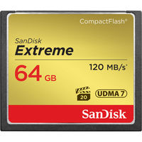SanDisk CF 64GB Extreme 120MB/s UDMA7