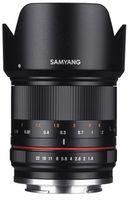 Samyang 21 mm f/1,4 ED AS UMC CS pro Fuji X