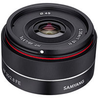 Samyang 35 mm f/2,8 AF pro Sony FE
