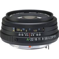 Pentax SMC D FA 43 mm f/1,9 Limited černý