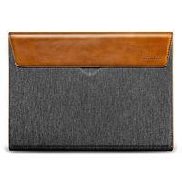 "Tomtoc pouzdro Premium Sleeve pro MacBook Pro / Air 13"" šedo-koňakové"
